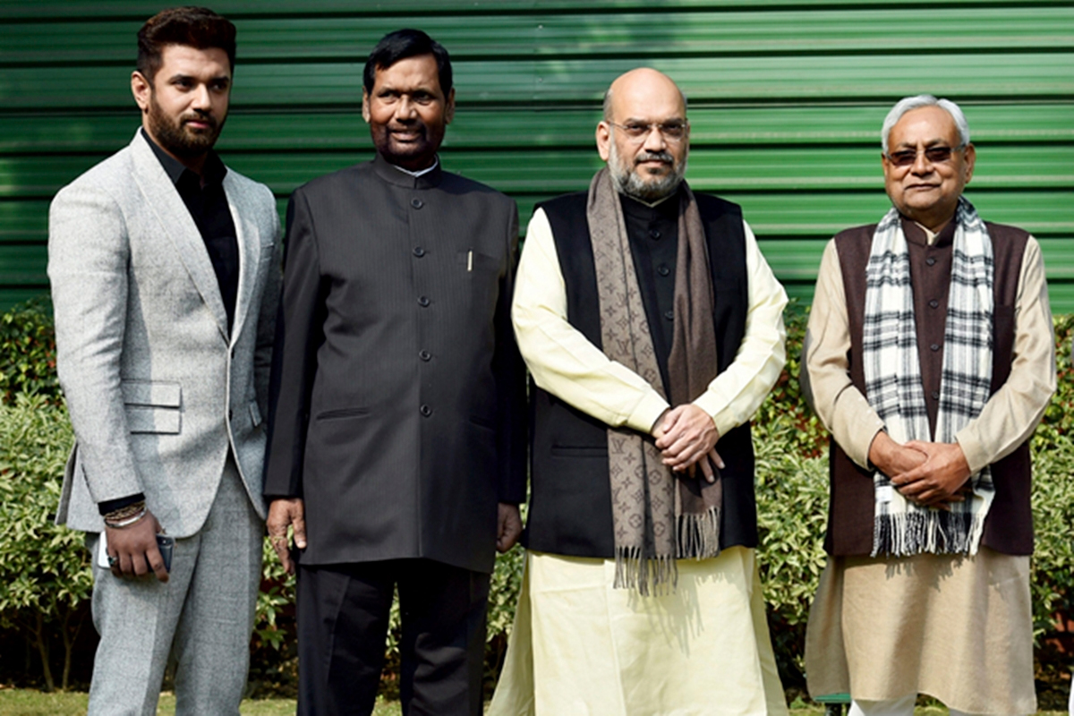 Bihar election 2020: JD(U) presses for 115 seats, wants BJP to accommodate LJP from its quota of 128
