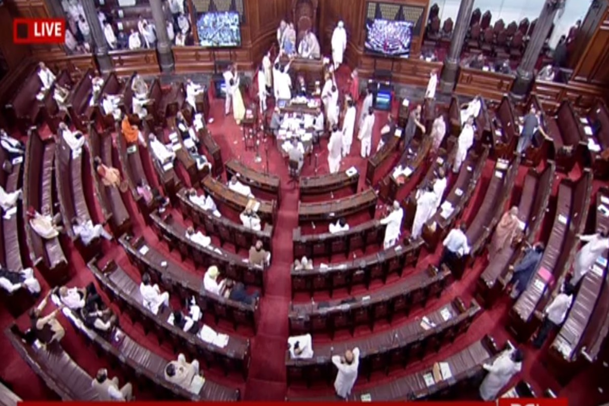 RS passes two farm Bills amid protests by Oppn MPs; 'Landmark day for Indian agriculture', says Rajnath Singh