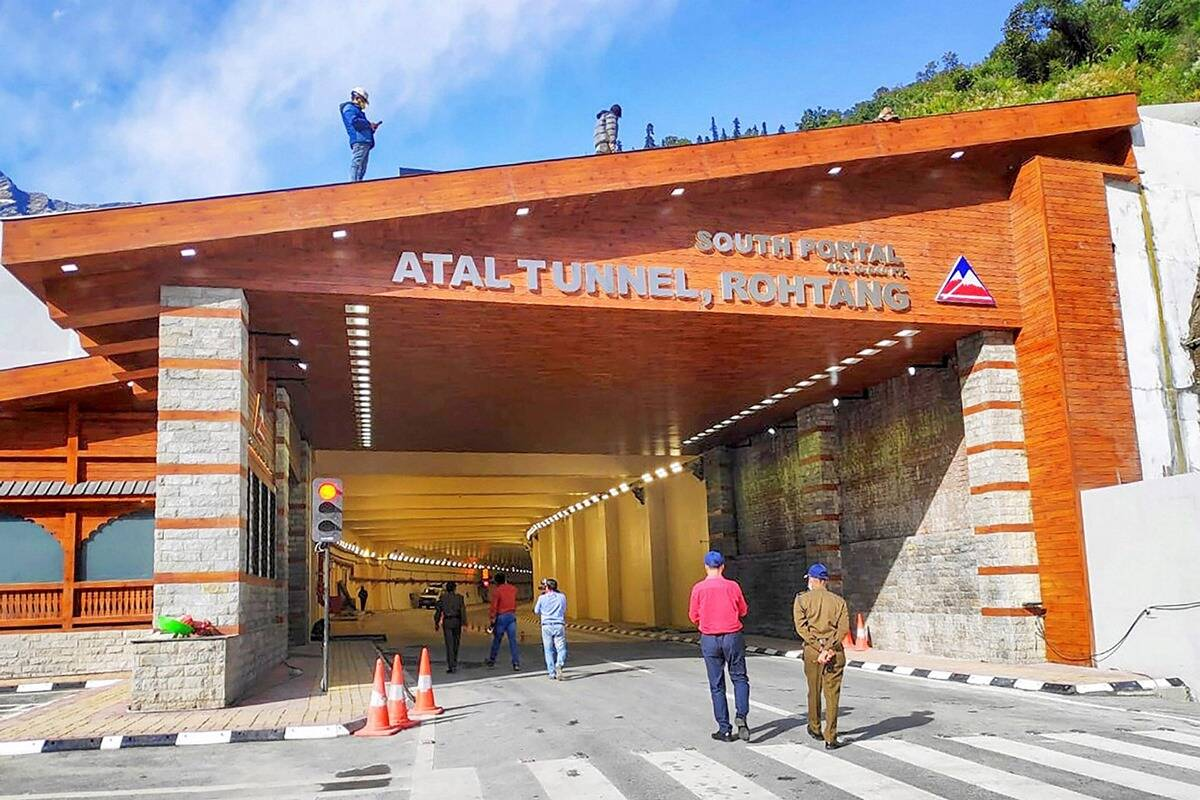 Atal Tunnel Rohtang LIVE: PM Modi in Manali to inaugurate world's longest highway tunnel above 10,000 feet