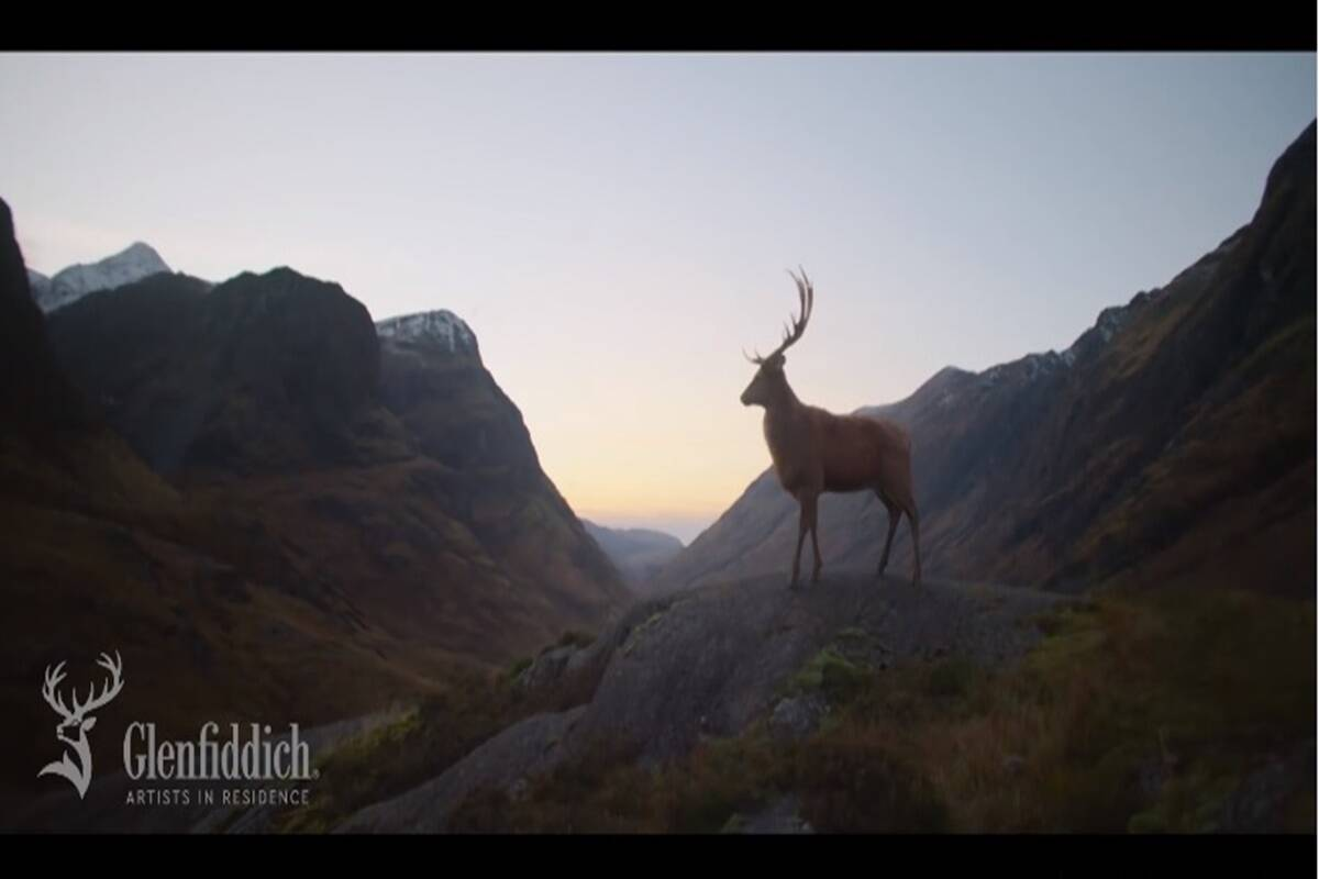 Glenfiddich launches its new global advertising campaign 'Where Next?' in India
