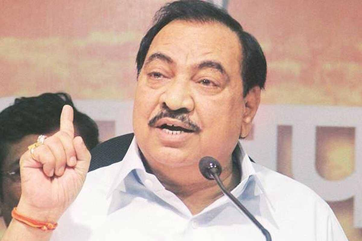Maharashtra: Eknath Khadse resigns from BJP, to join NCP on Friday