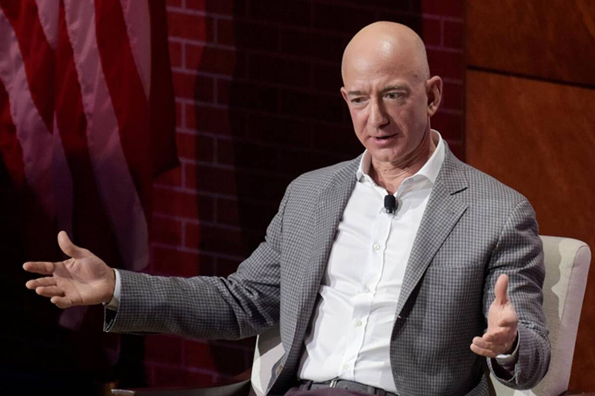 Trump's Covid diagnosis, tech-stock tumble fail to wipe out week's big gains by Jeff Bezos, Elon Musk