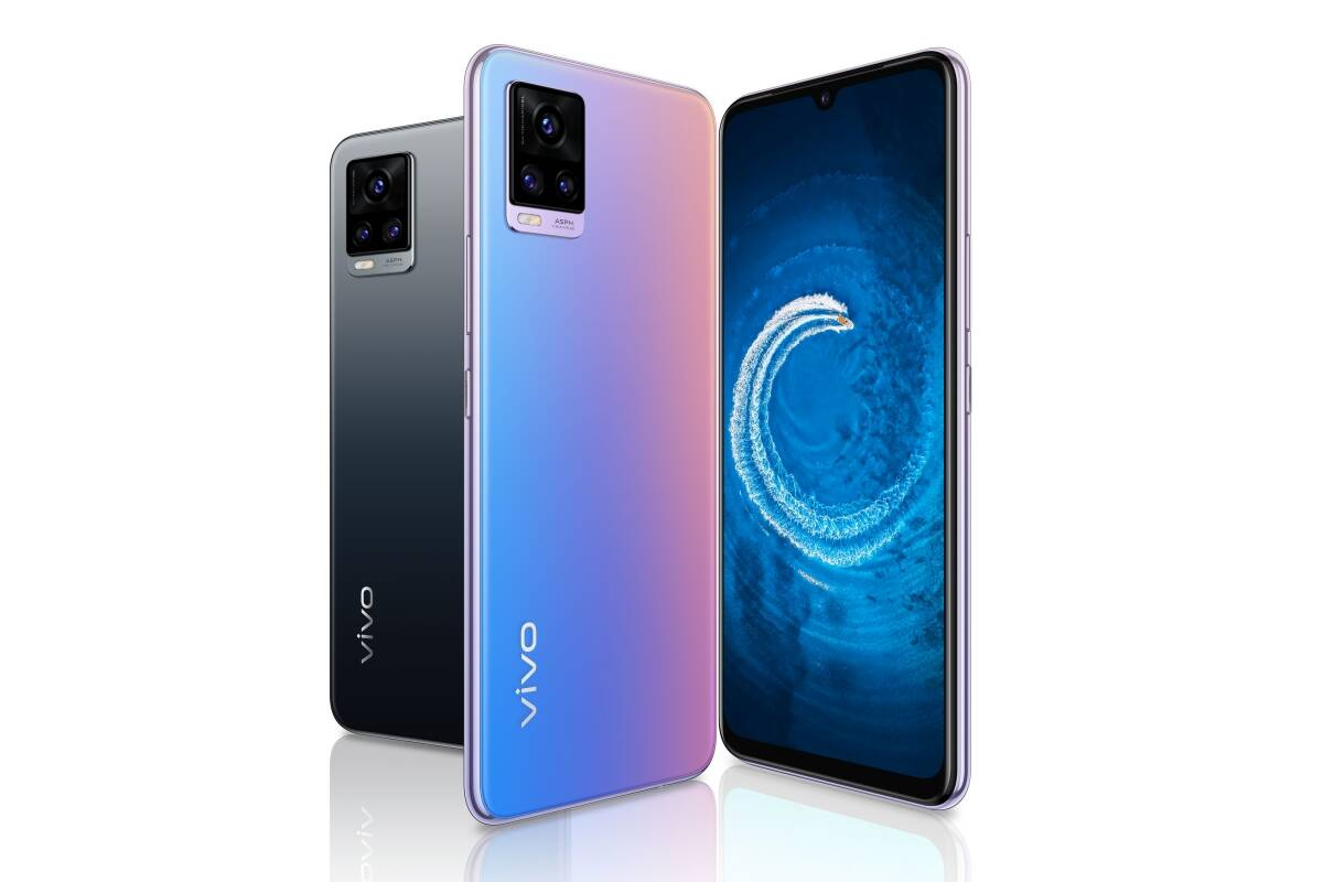 Vivo V20 brings 44MP eye autofocus selfie camera, Android 11 software for Rs 24,990