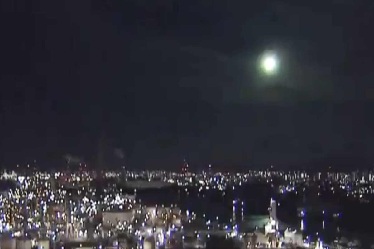 'Almost as bright as full moon': Mysterious fireball lights up sky over Japan — watch video