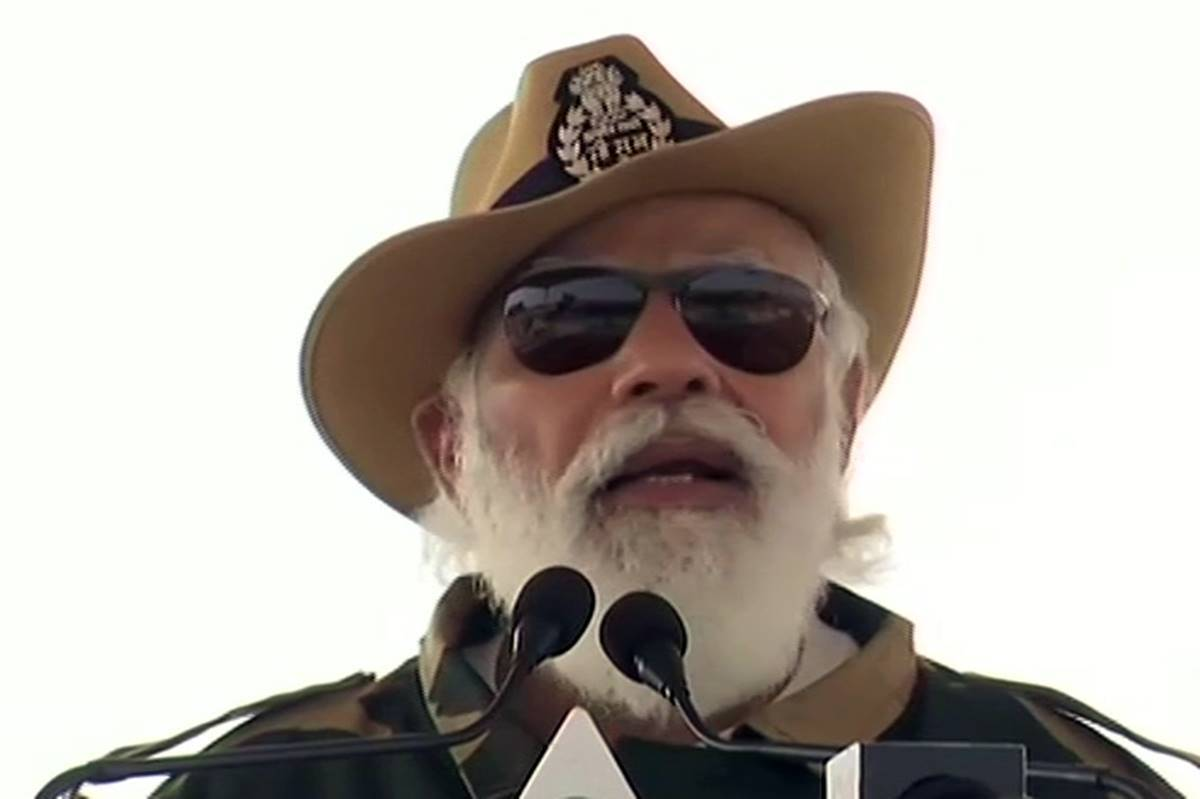 PM Narendra Modi celebrates Diwali at Rajasthan's Longewala Post, says 'every Indian is proud of our soldiers'