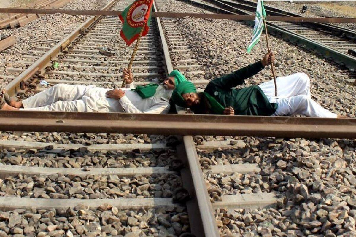 Punjab's rail-roko protest takes a predictable turn