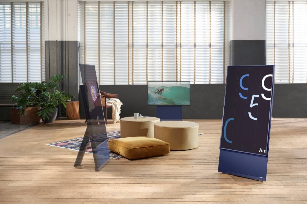 """Samsung launches The Sero, a high-end 4K QLED """"rotating"""" TV in India"""
