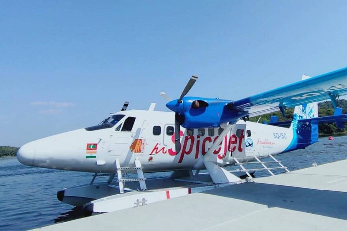 Seaplane service between Ahmedabad-Kevadia suspended for 15 days