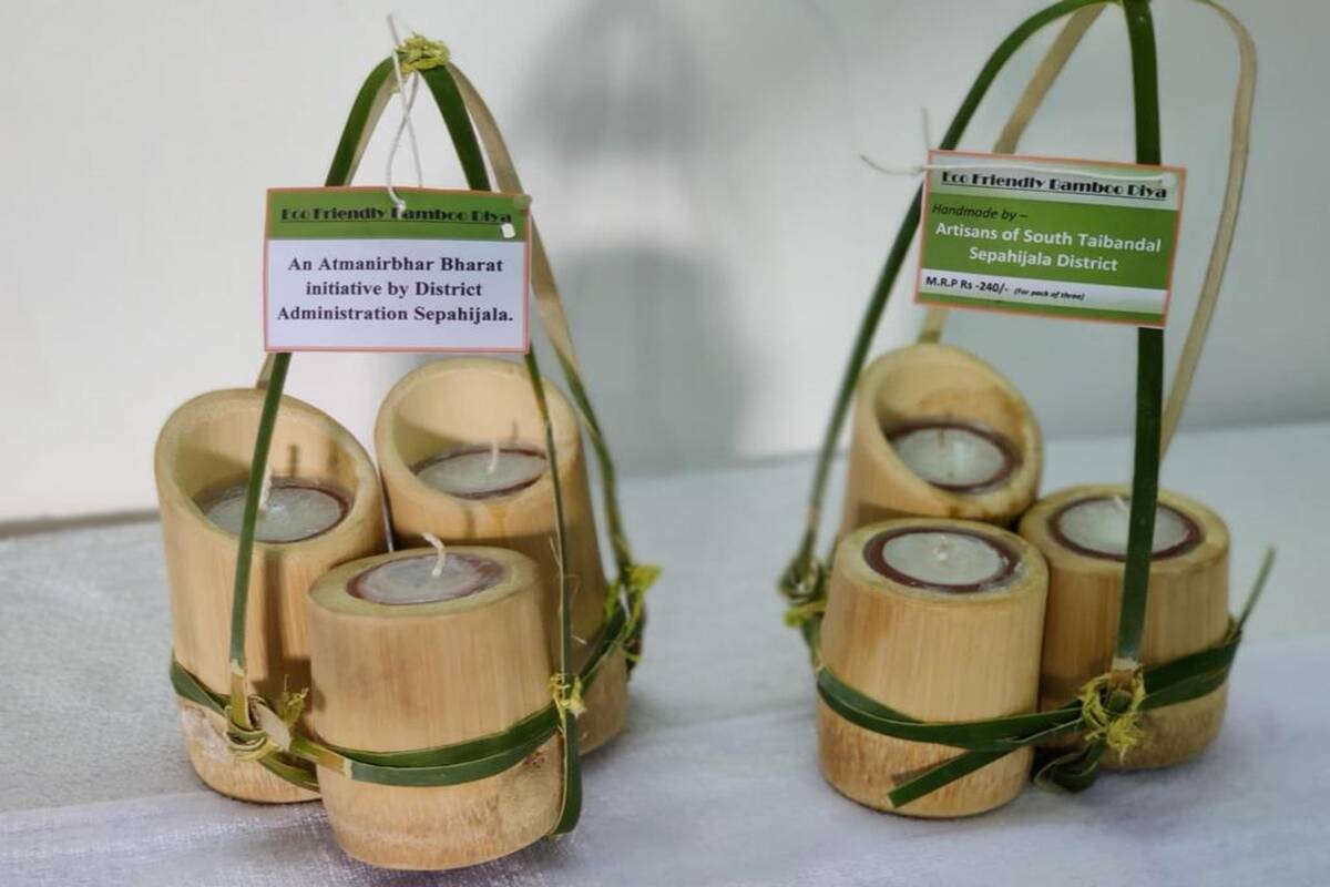 This Diwali, you can light up your world with these eco-friendly bamboo diyas