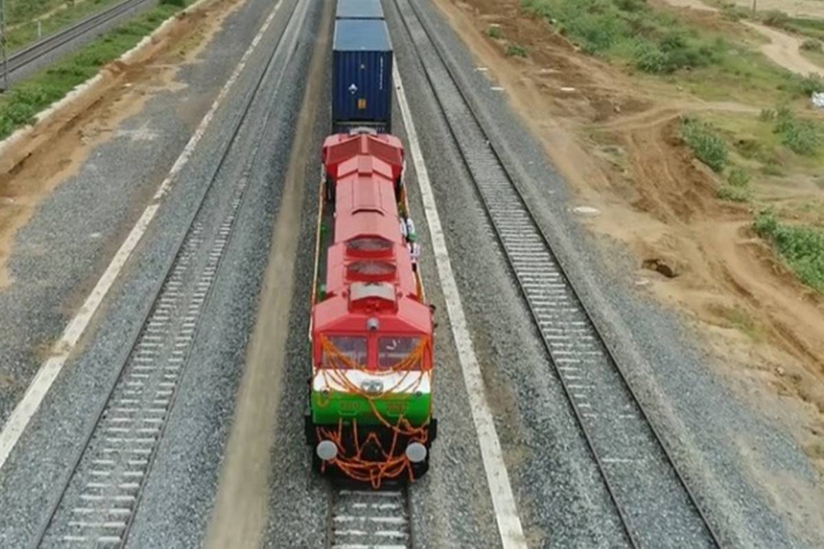 DFC Project: In a first, Indian Railways freight train attained 100 kmph speed on Bhaupur-Khurja section