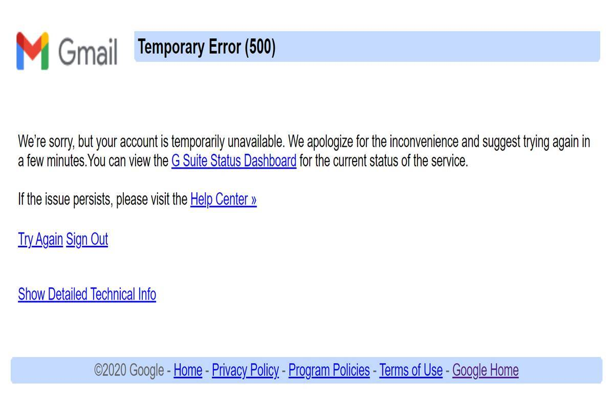 Google is down globally; users can't access Search, Gmail and YouTube