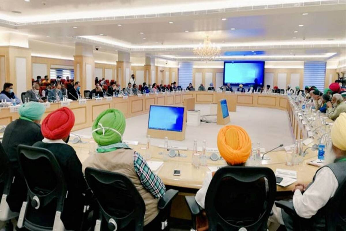 Farmers Protest Live News: Farmers to sit with Centre for 8th round of talks on Farm Acts today
