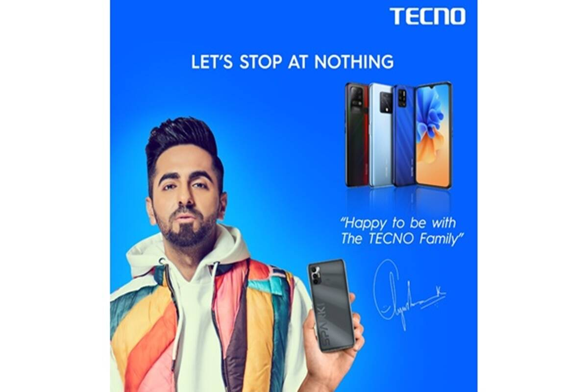 Tecno ropes in Ayushmann Khurrana as its Indian brand ambassador for 2021