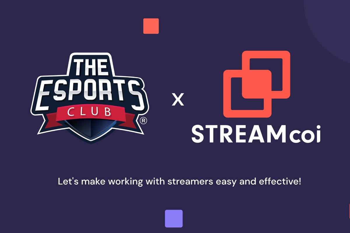 The Esports Club partners with Streamcoi to grow Its live streaming business