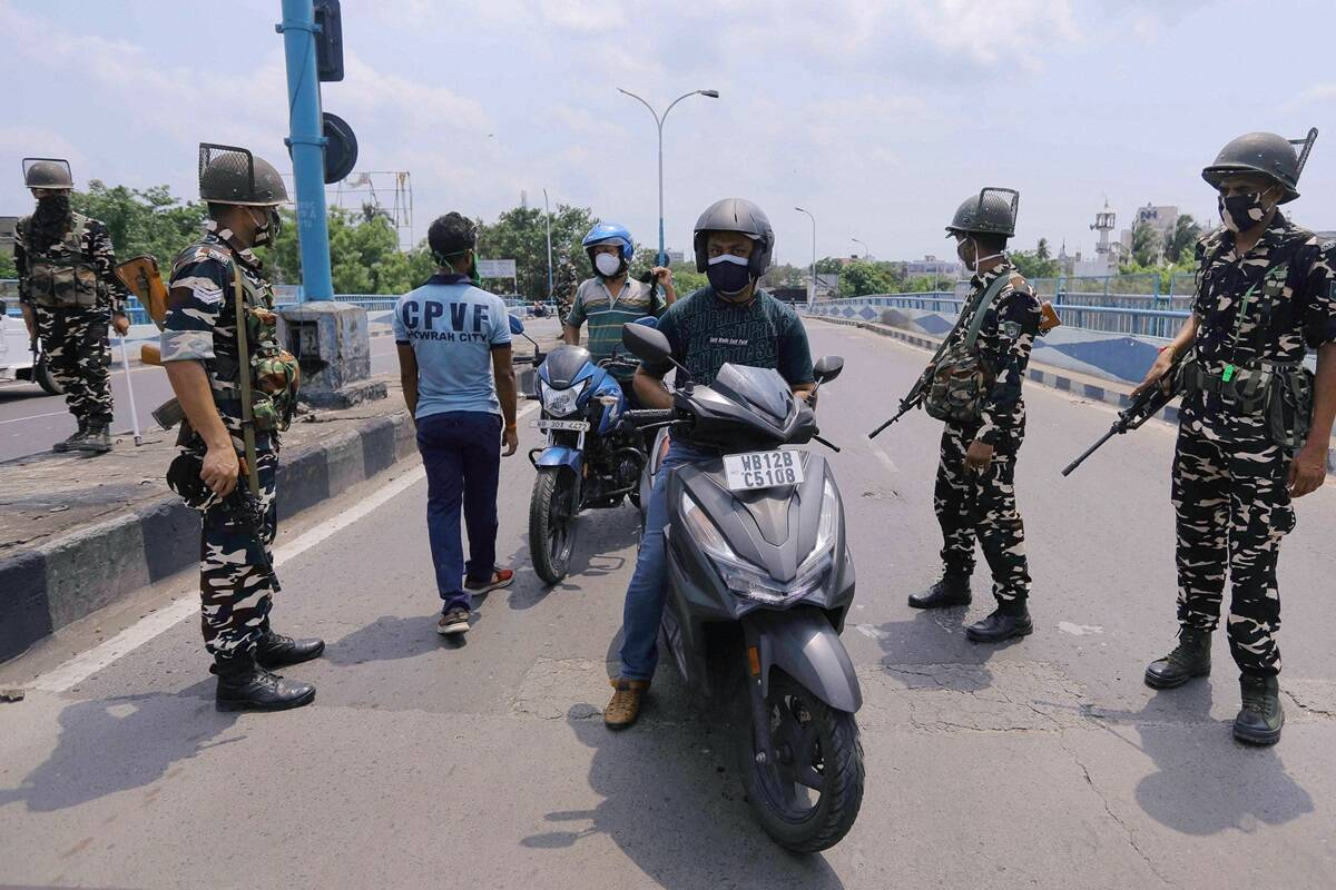 West Bengal Lockdown Update: Streets empty, shops closed as 15-day Covid lockdown comes into force