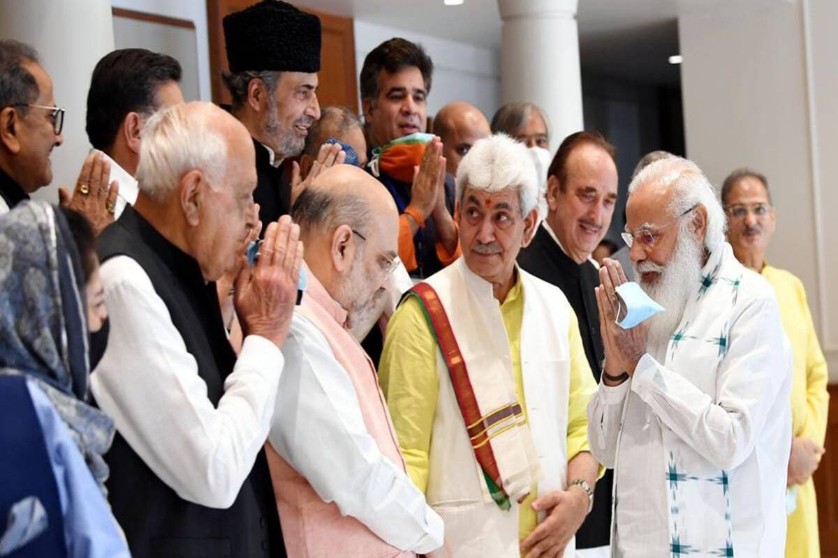 PM Modi's meeting on Kashmir: The first step of a long journey