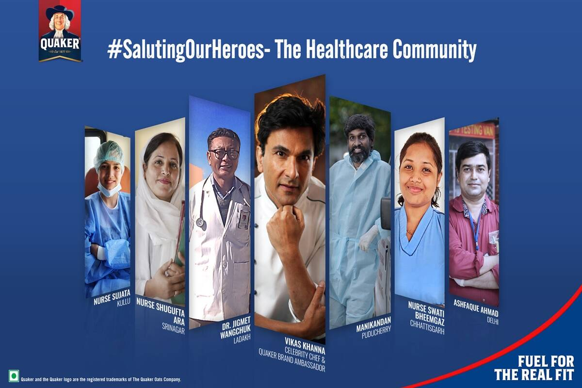 Quaker outlines the support of healthcare community in new film #SalutingOurHeroes