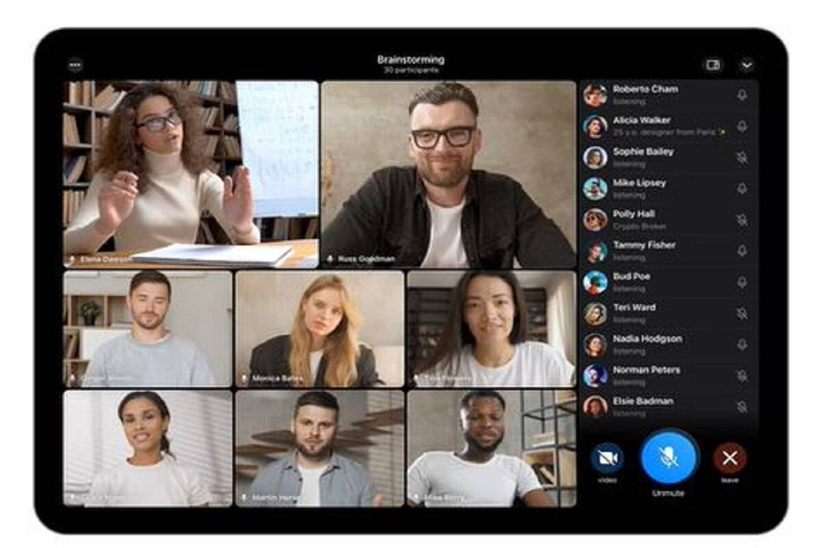 Telegram rolls out group video calls support, animated backgrounds and more with new update