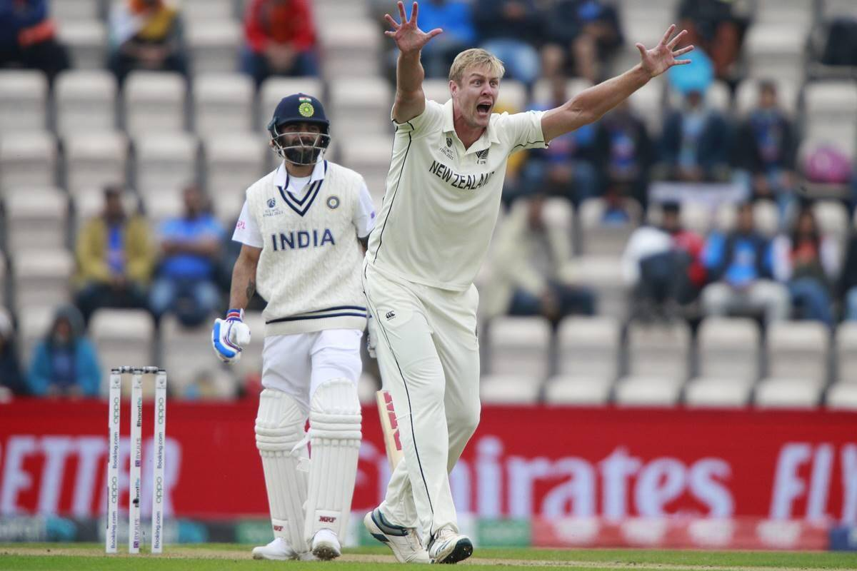 World Test Championship Final, India v New Zealand, Day 3: Kyle Jamieson's five-for, Conway's fifty help Kiwis take control