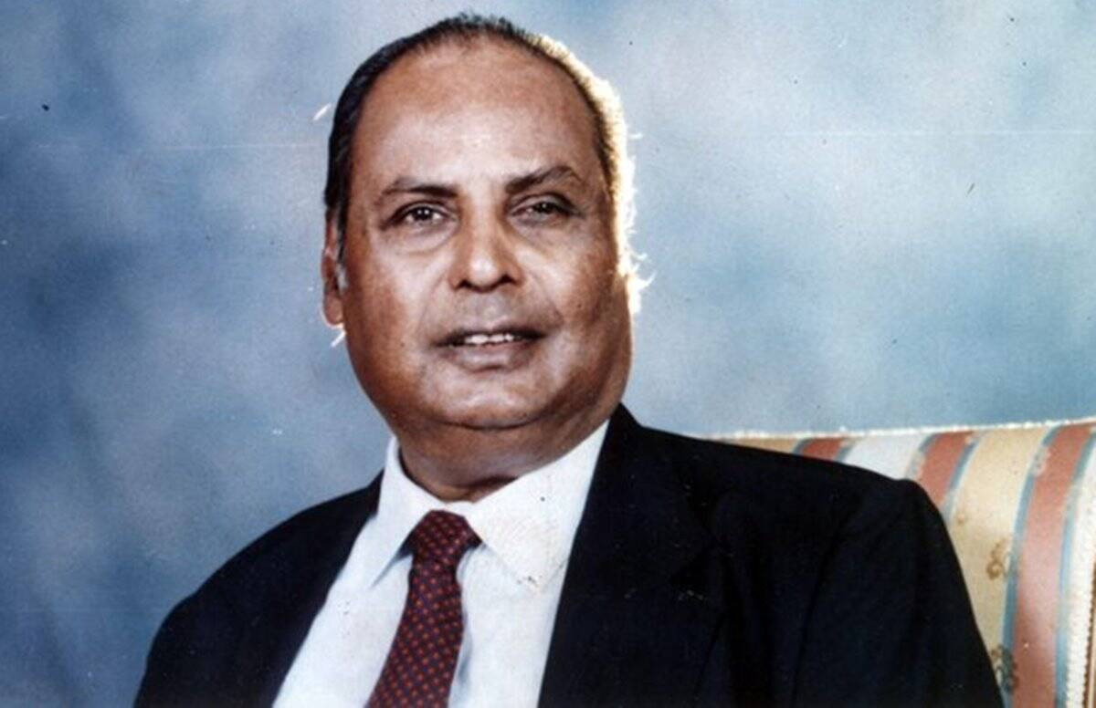 Dhirubhai Ambani: From gas station attendant to Founder of Reliance Industries Group; awards, achievements