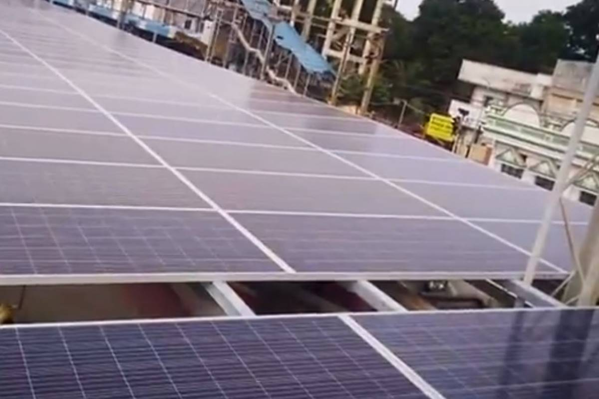 Vijayawada station becomes Indian Railways' first station to be covered with 130 kWp solar panels; details